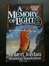 ROBERT JORDAN & B.SANDERSON-A MEMORY OF LIGHT. SIGNED(x4). LIMITED 1/1 H/B. TOR.