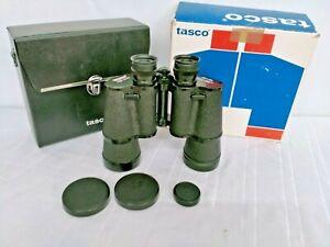 TASCO 20 X 50 FULLY COATED MODEL NO.314 LIGHT WEIGHT BINOCULARS IN CASE