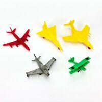 Vintage Midgetoy Plastic Diecast Metal Toy Airplane Fighter Jet Plane Lot USAF