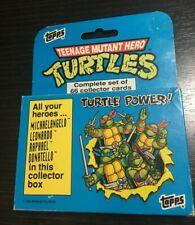 TOPPS VINTAGE 1990 ORIGINAL TMNT TEENAGE MUTANT NINJA TURTLES TRADING CARDS SET