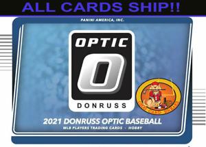 KANSAS CITY ROYALS   2021 DONRUSS OPTIC BASEBALL 1/3 (4 BOXES) CASE BREAK #28