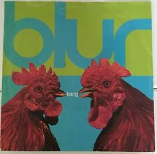 "BLUR Bang / Luminous 7"" vinyl 45 rpm 1991 record single FOOD 31"