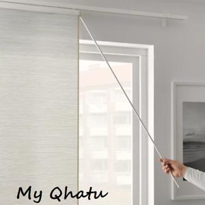 "IKEA Vidga Aluminum Draw Rod For CURTAIN, White 43 1/4"" New"