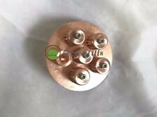 "4"" Copper Bubble Plate for Moonshine Still Flute Column"