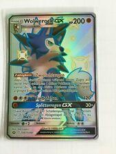 Wolwerock GX SV67/SV94 Shiny Pokemon Karte Verborgenes Schicksal Deutsch