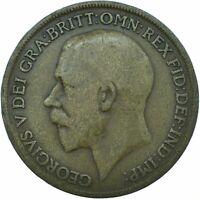 1919 ONE PENNY GB UK GEORGE V.     #WT21074