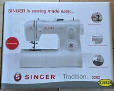 SINGER Tradition 2282 halbautomatische Nähmaschine - Weiß
