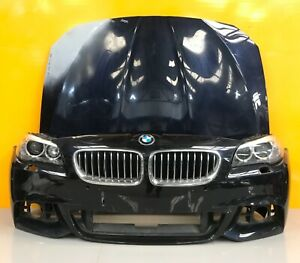 BMW  5 series f10/f11 lci 2015-17 GENUINE FRONT BUMPER,bonnet,headlights
