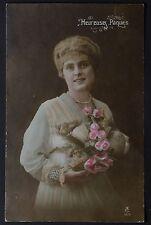 Vintage Photo Postcard Lady Glamour (1536)