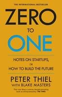Zero to One By Peter Thiel Start Ups Paperback Book | NEW & Free Shipping AU