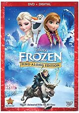 NIP Disney FROZEN ELSA & ANNA Sing Along Edition DVD+ DIGITAL Free Shipping