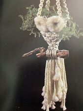 Macrame 3D Owl Planters Hanging Wall Art Frog Unique Projects Pattern Book