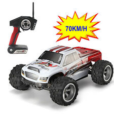 Upgraded 70km/h Wltoys High Speed 1:18 4WD Off-Road 2.4G RC Monster Truck Car