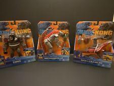 Godzilla Vs Kong Figures! Lot Of 8! Kong, Mechagodzilla, Skullcrawler! Godzilla!