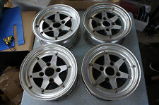 "JDM 13"" SSR Speed Star racing XR4 xr-4 longchamp rims wheels ke70 datsun starlet"