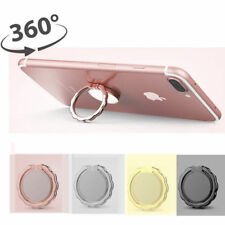 Universal Bowknot Mirror Finger Ring Phone Kickstand Holder Car Mount Desk Stand