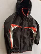 Phenix Jacket Boys 18 Junior Winter Gray Red Waterproof Coat Park ski snowboard