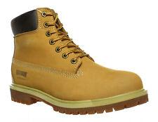 Magnum Mens Foreman 6-Inch Wheat Tan Nubuck Work Boots