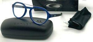 OAKLEY SCAVENGER OX 8151-0351 TRANSLUCENT BLUE 51-19-138MM Eyeglasses NIB