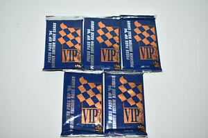 Lot of 5 Press Pass VIP 1994 Premier Edition Raceing Card Packs