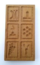 altes Holz Model Springerle Spekulatius    16 x 9  x 1,3 cm