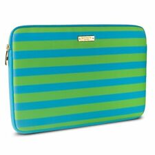 Kate Spade Sleeve for Microsoft Surface Pro 3 & 4, Green & Blue Candy Stripe