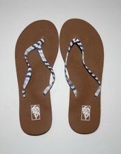 3051aacc8c New Vans Womens Malta Print Flip Flops Sandals Size 7 EU 37.5 UK 4.5