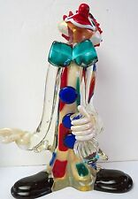 Murano Art Glass Large Cenedese Clown Very Rare And Unusual
