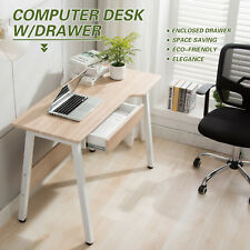 Home Office Desk Stylish Design Wooden Study Desk Dressing Table Drawer