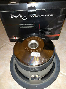 diamond audio titanium M610D2 NOS,new in the box,3in VC,dual 2 ohms/pick up only