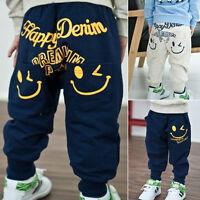 enfants garçon sarouel baggy pantalon en vrac Coton SPORT Pantalon dessin animé