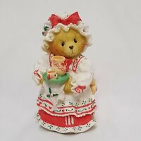 """Cherished Teddies Holly 1995 Enesco P Hillman 141119 A Cup of Homemade Love 3.5"""""""