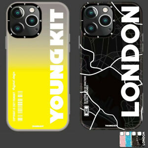 For iPhone 13 /13 Pro /13 Pro Max Soft Back Case City Map Clear Shockproof Cover