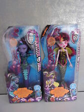 Monster High Great Scarrier Reef Clawdeen Wolf + Draculaura - Neu & OVP