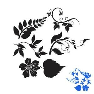 Cutting Dies Leaf Branch Metal Scrapbook Embossing Cards Making Craft Stencils