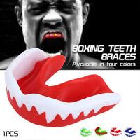 Mouth Guard Teeth Protection Boxing Gum Shield Muay Kicking MMA Martial Arts US
