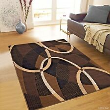 Rugs Area Rugs Carpets 8x10 Rug Modern Large Floor Living Room 5x7 Brown Rugs ~
