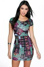 Boohoo Polyester Stretch, Bodycon Dresses for Women