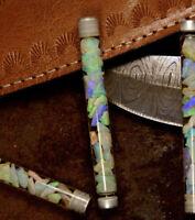 Rough Opal Chip Tube