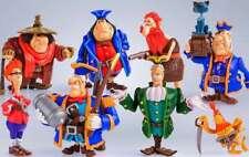 Set 8 toys figures dolls Treasure Island Prosto Toys Kievnauchfilm 6 - 11 cm