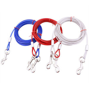 Steel Wire Double Coupler Leashes Pet Dog Dual Lead No-Tangle Bungee Top Quality