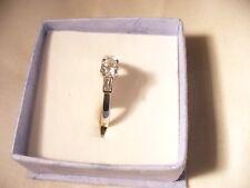 platinum diamond single stone  ring