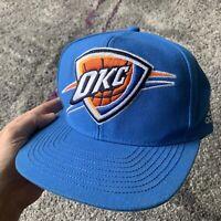 Adidas Nba Oklahoma City Thunder Basketball Snapback Hat