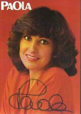 Autogramm - Paola