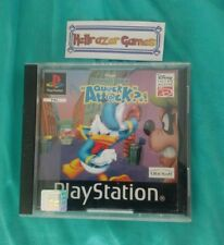 Donald Duck Quack Attack ps1 game no sleeve playstation fast post