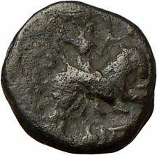 Amphipolis Macedonia ARTEMIS Tauropolos on Bull Ancient Greek Coin Rare  i24089