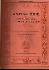 Bianchi De Médicis   Anthologie De Coiffes & Types Actuels Du Peuple Breton