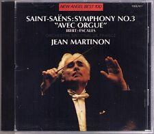 Jean MARTINON: SAINT-SAENS Symphony No.3 IBERT Escales EMI JAPAN CD Organ Orgel