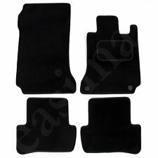 Mercedes C Class W204 Auto 2007-2013 Tailored Carpet Car Mats 4pcs Floor Set