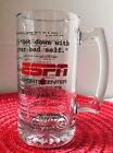 24 Oz. ESPN Sportscenter Clear Glass Beer/Beverage Mug, Stuart Scott Quotes